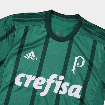 c73388284 ... Camisa Palmeiras I s/n° 17/18 - Jogador Adidas Masculina. Passe o mouse  para ver o Zoom