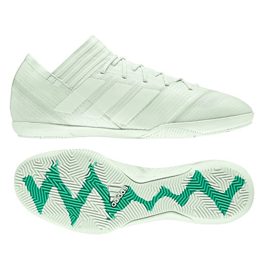 a8581d6782c47 Chuteira Futsal Adidas Nemeziz 17.3 IN - Verde - Compre Agora