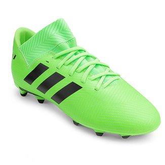 Chuteira Campo Infantil Adidas Nemeziz Messi 18 3 FG f90e90dae6d53