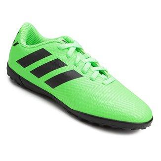 Chuteira Society Infantil Adidas Nemeziz Messi 18 4 TF a3ac2ab0c7e51
