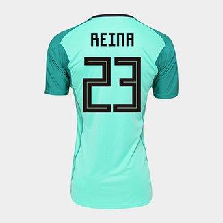7ea2af23acf91 Camisa Seleção Espanha Goleiro Home 2018 n° 23 Reina - Torcedor Adidas  Masculina