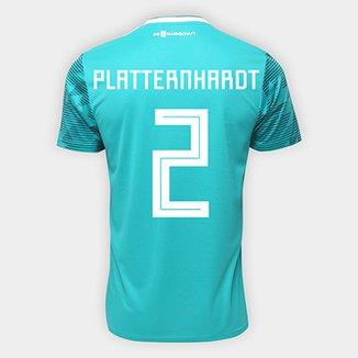 f248ba82ea Camisa Seleção Alemanha Away 2018 n° 2 Plattenhardt - Torcedor Adidas  Masculina