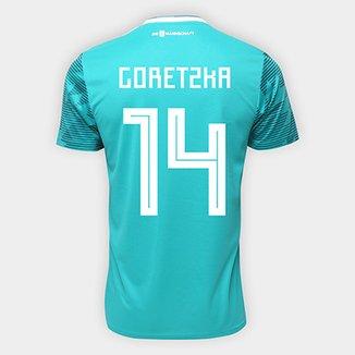 Camisa Seleção Alemanha Away 2018 n° 14 Goretzka - Torcedor Adidas Masculina 86ee1636d7db0
