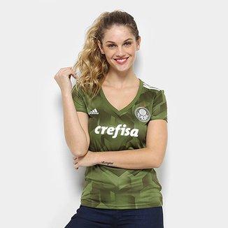 e2a0b9a5f1f14 Camisa Palmeiras III 2018 s n° - Torcedor Adidas Feminina