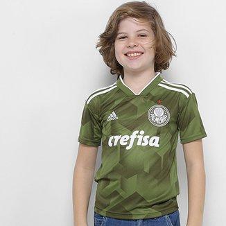 d192fe8acc843 Camisa Palmeiras Infantil III 2018 s n° - Torcedor Adidas