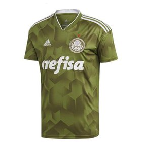 Camisa Palmeiras II 17 18 nº 20 - Lucas Lima Adidas Masculina ... f8fdf521a8ac1