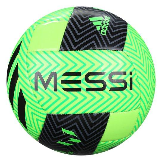 a64d37e0bd28 Bola de Futebol Campo Adidas Messi Q3 - Verde+Preto
