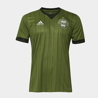 Camisa Coritiba II 17 18 s n° - Torcedor Adidas Masculina 91cd15c3a02d6
