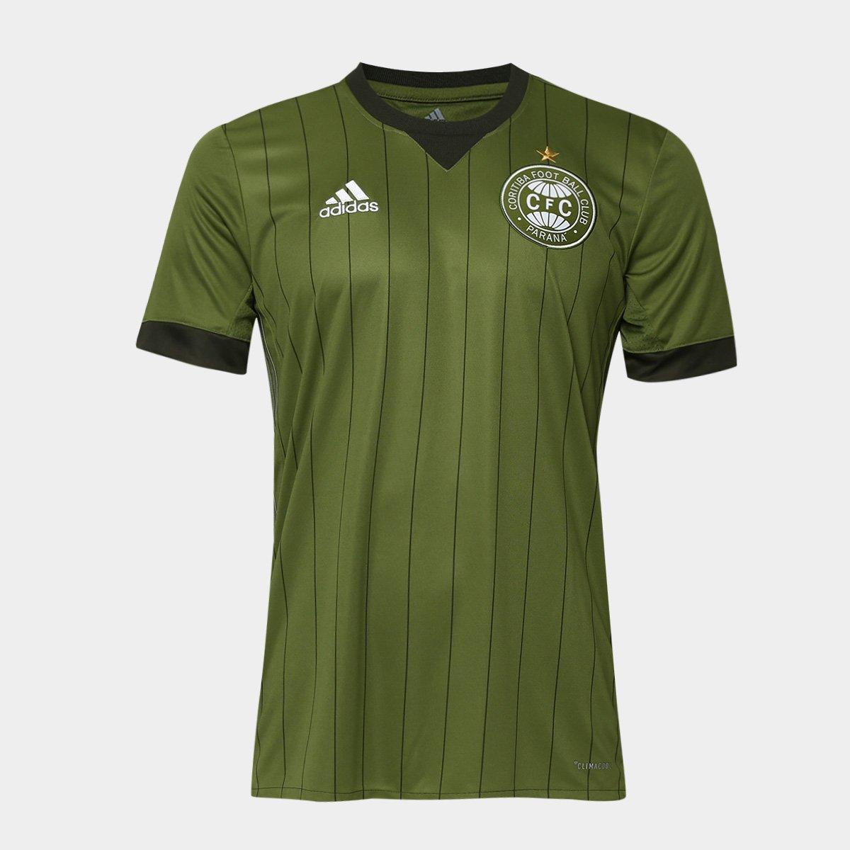 bbc7c53d24 Camisa Coritiba II 17 18 s n° - Torcedor Adidas Masculina