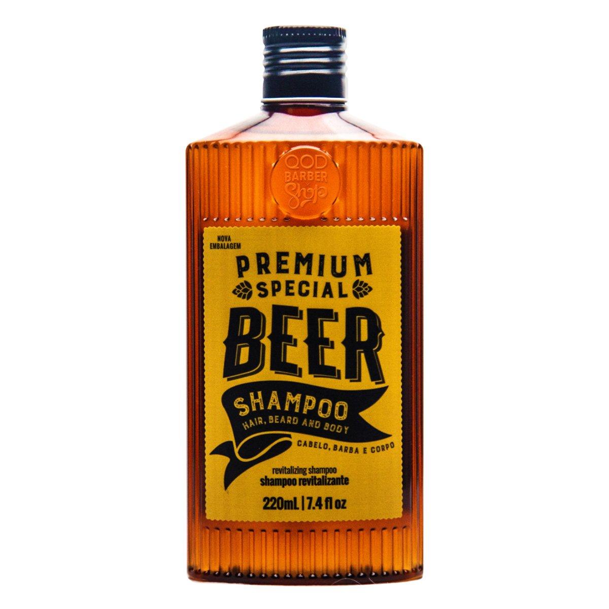Shampoo Premium Special Beer QOD Barber Shop New 220ml