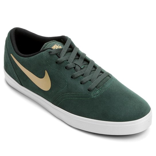 6a556990ec8 Tênis Nike SB Check - Verde escuro+Branco