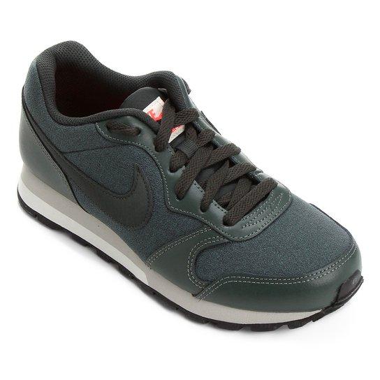120861e48f Tênis Nike Md Runner 2 Feminino - Verde e Preto - Compre Agora ...