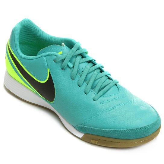 fd486b9dc7ff1 Chuteira Futsal Nike Tiempo Genio 2 Leather IC Masculina - Compre ...