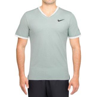 f98c966292 Camiseta Nike Court Dry RF Top Verde-P