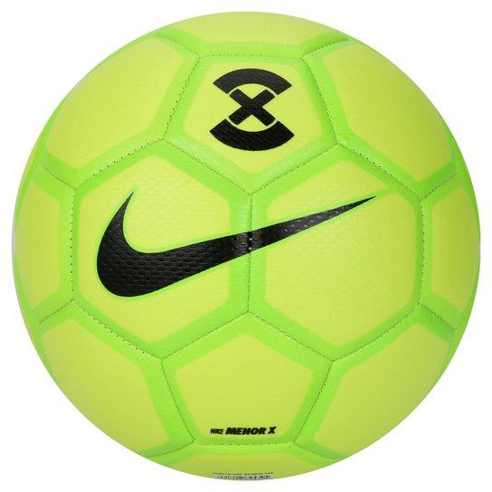 41d971cdfb Bola Futsal Nike FootballX Menor - Verde Limão e Preto - Compre ...