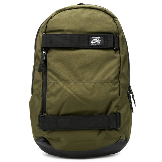 a8d5356a7 Mochila Nike SB Courthouse Masculina - Verde Militar e Preto | Netshoes