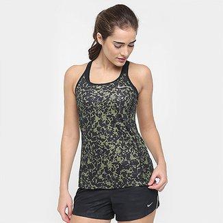 Regata Nike Dri-Fit Miler Print Feminina cc82d1ca428bd
