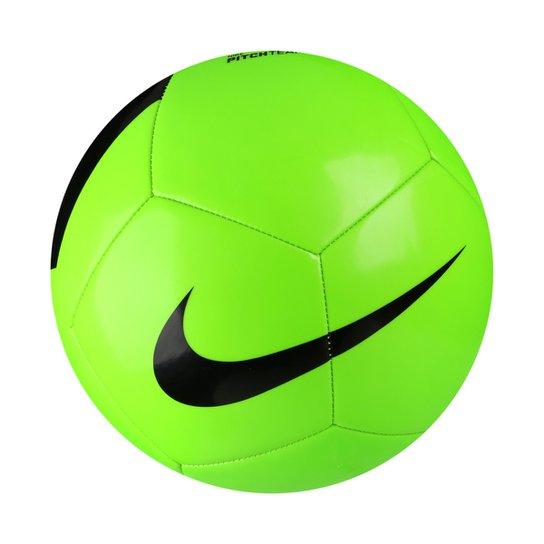 5720fd8bc9 Bola Futebol Campo Nike Pich Team - Verde Claro e Preto - Compre ...