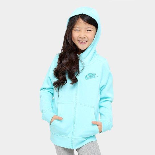 88890890c2 Jaqueta Infantil Nike Nsw Hoodie Fz Club Gfx Feminina - Compre Agora ...