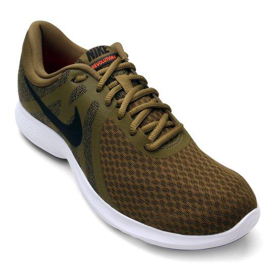 08f32d9209b Tênis Nike Revolution 4 Masculino - Verde e Preto - Compre Agora ...