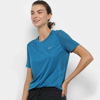 Camiseta Nike Miler SS Feminina b0620f604d4
