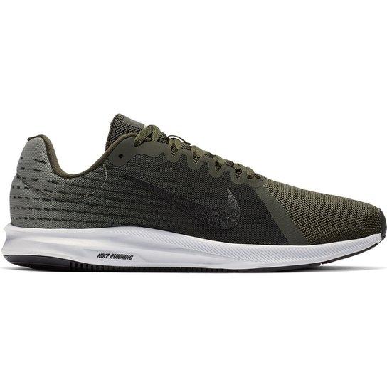 cc4f4c8cc Tênis Nike Downshifter 8 Masculino - Verde e Preto - Compre Agora ...