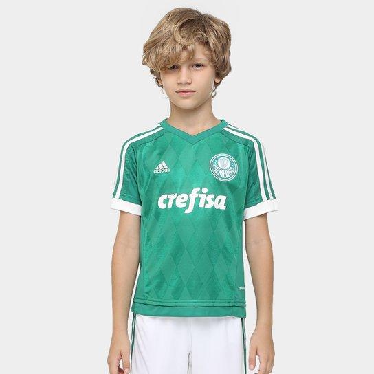 Camisa Palmeiras Infantil I 15 16 s nº Torcedor Adidas - Compre ... abc6af4eac1b7