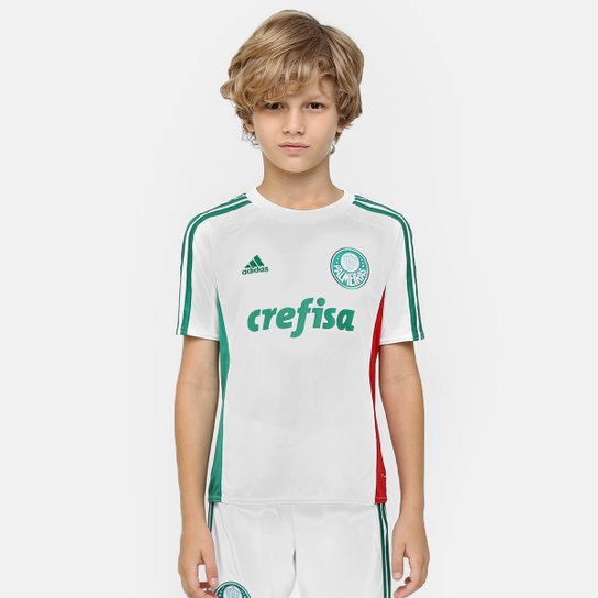 Camisa Palmeiras Infantil II 15 16 s nº - Torcedor Adidas - Compre ... cb12ef5618713