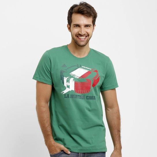 ae12841a18 Camiseta Palmeiras Adidas Stadium Masculina - Compre Agora