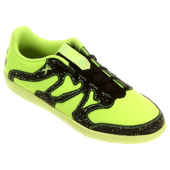 a0190ae101 Chuteira Futsal Adidas X 15 4 ST - Verde Limão+Preto