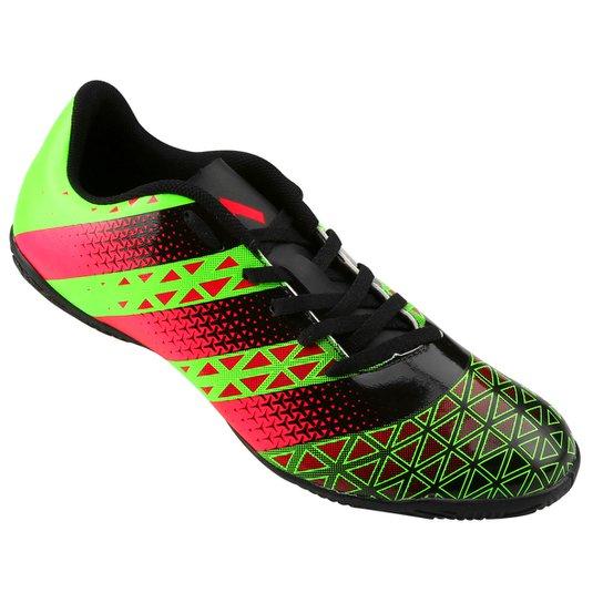Chuteira Futsal Adidas Artilheira IN Masculina - Verde e Preto ... 91e5894c963c4