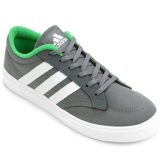 Tênis Adidas GVP - Cinza+Verde Limão 7eebfce096708