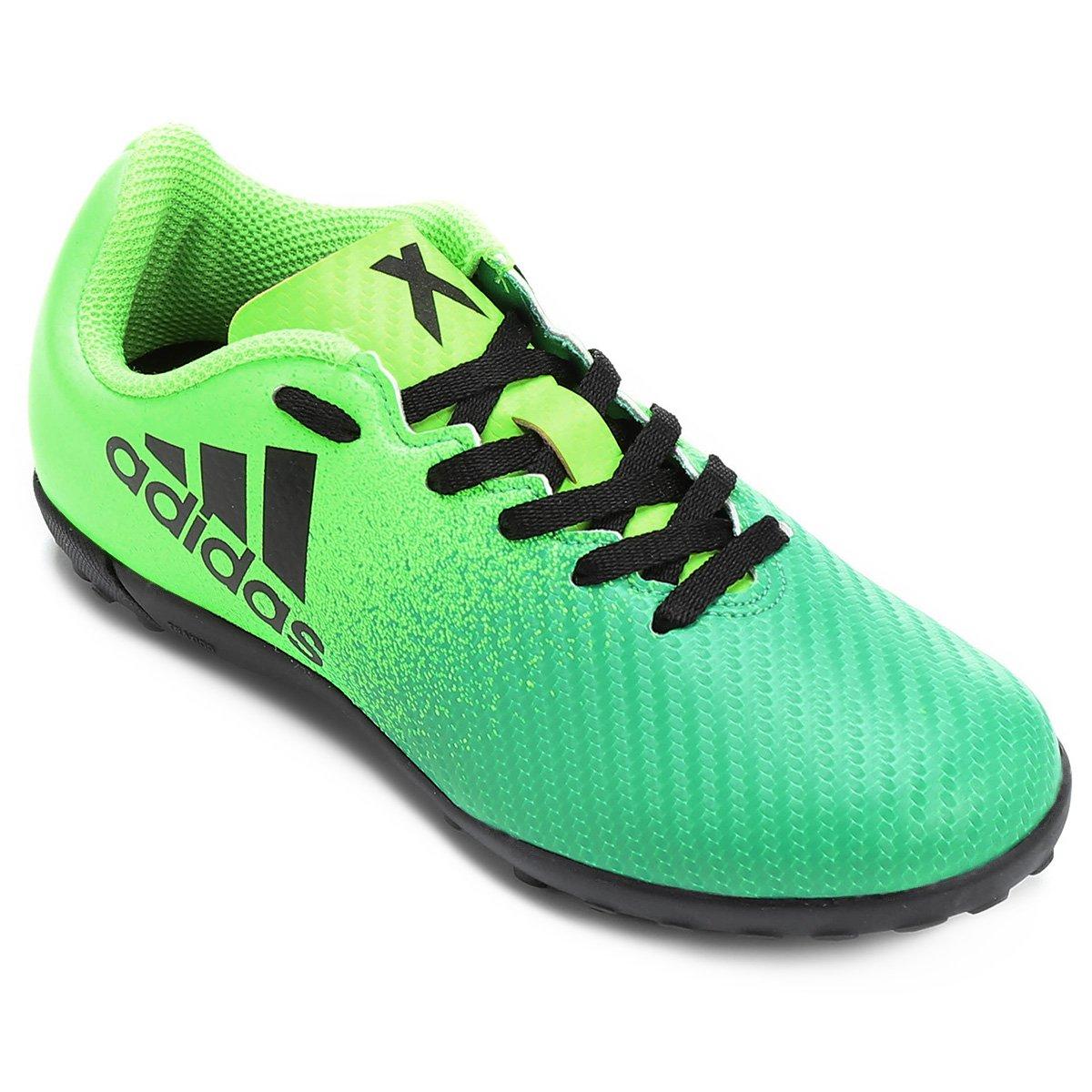 bf54784711 Chuteira Society Infantil Adidas X 16.4 TF