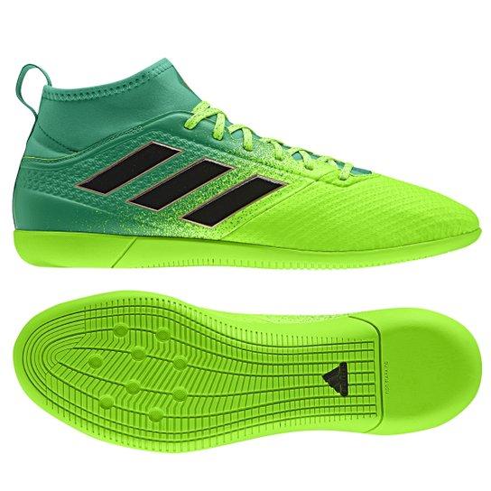 403dd725db Chuteira Futsal Adidas Ace 17.3 IN - Verde e Preto