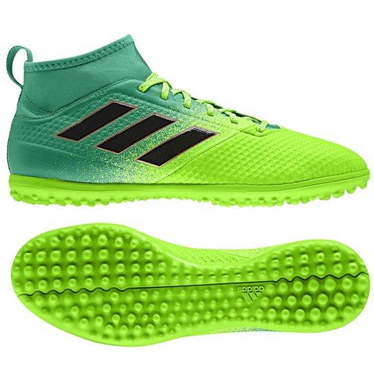 c5b982127b Chuteira Society Adidas Ace 17.3 TF - Verde e Preto - Compre Agora ...