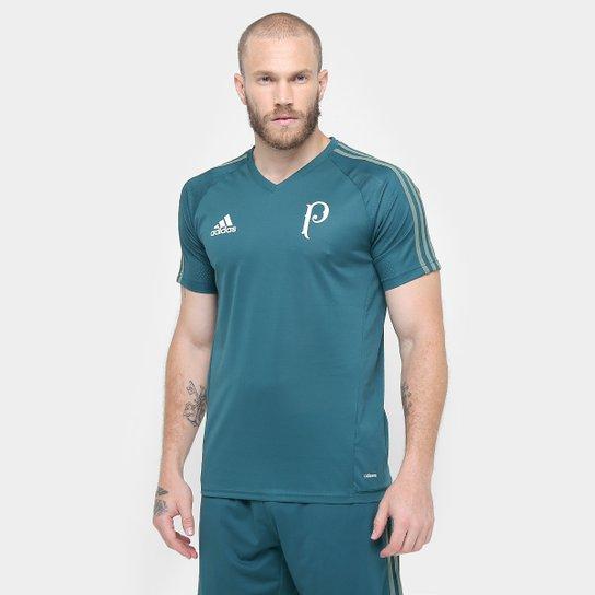 02cf4cec49 ... Promoção  a8cb0b39ef4 Camisa Palmeiras 17 18 Treino Adidas Masculina -  Verde - Compre .