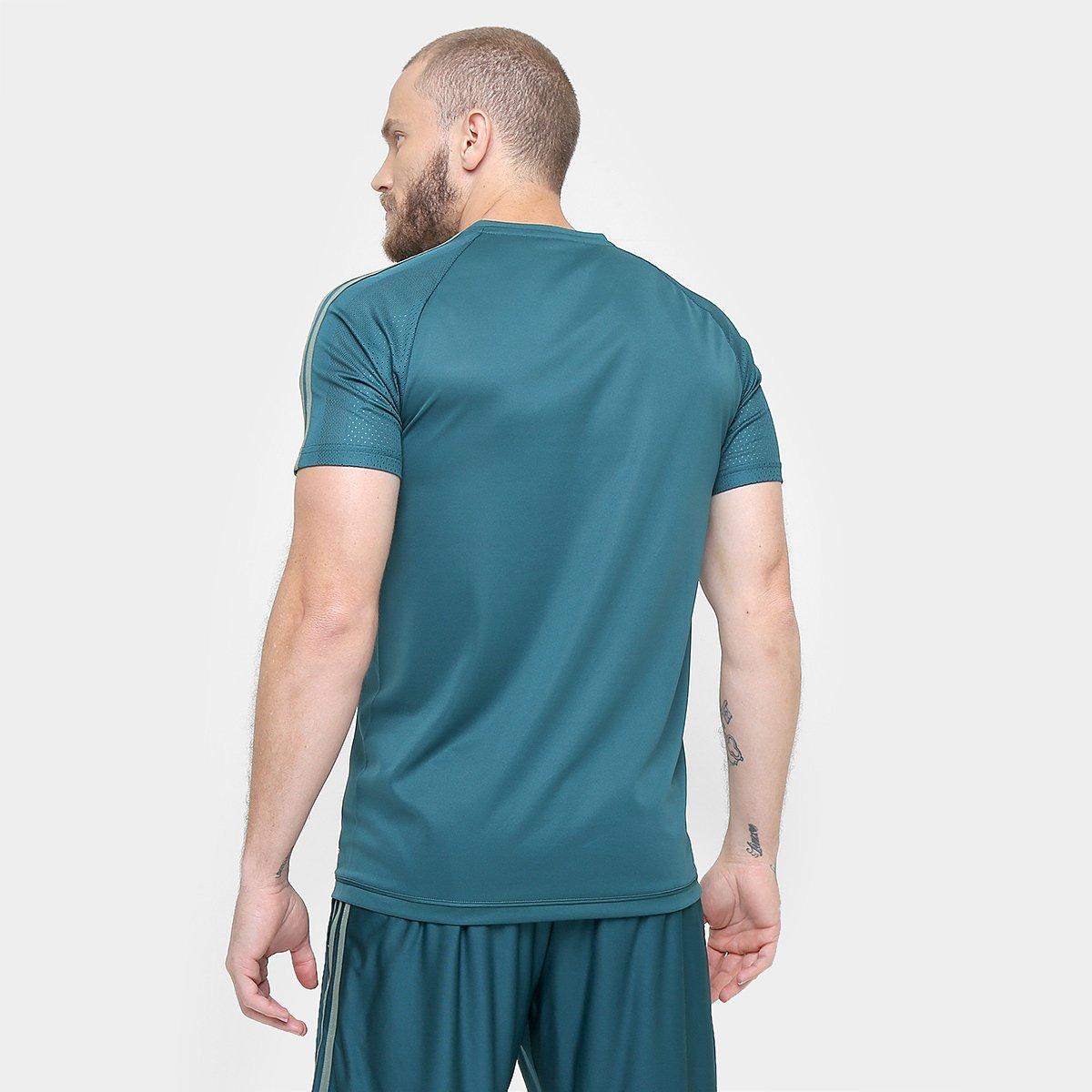 Camisa Palmeiras 17 18 Treino Adidas Masculina  b1eb96e0ecbb2