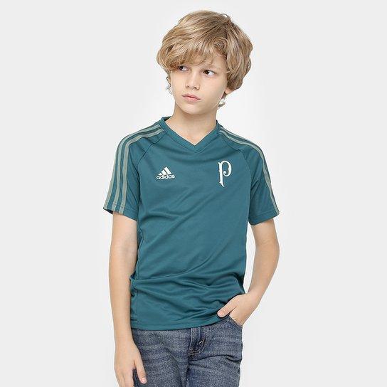 0942c60435 Camisa Palmeiras Infantil 17 18 Treino - Torcedor Adidas - Compre ...