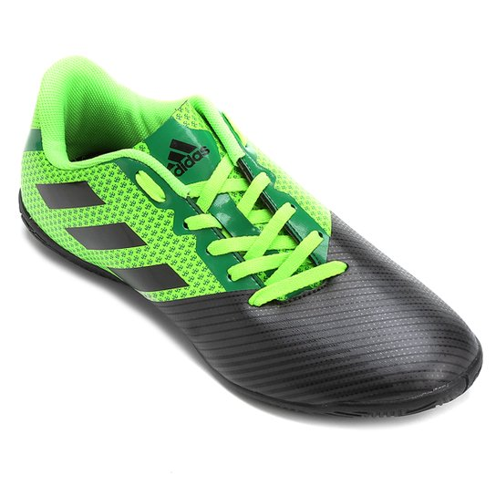 Chuteira Futsal Adidas Artilheira 17 IN - Verde e Preto - Compre ... 06fc5c176894f