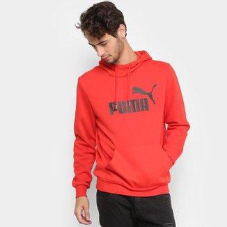 930d019778a Moletom Puma Ess No.1 Hoody Fl