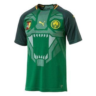 Camisa Seleção Camarões Home 2018 s n° - Torcedor Puma Masculina 2e28afd6077d5