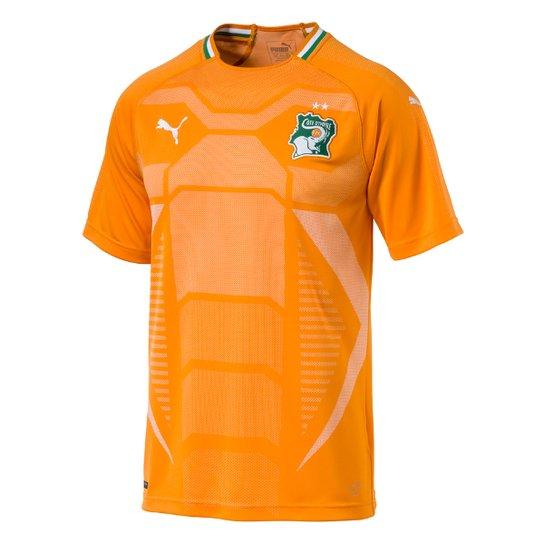 Camisa Seleção Costa do Marfim Home 2018 s n° - Torcedor Puma Masculina - c69d6c47431ff