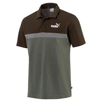 Camisa Polo Puma Elevated ESS Stripe Masculina 15c189b316295