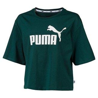 33b90c33f7c Camiseta Cropped Puma Ess+ Logo Feminina