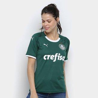 922cbb3070 Camisa Palmeiras I 19 20 s n° - Torcedor Puma Feminina