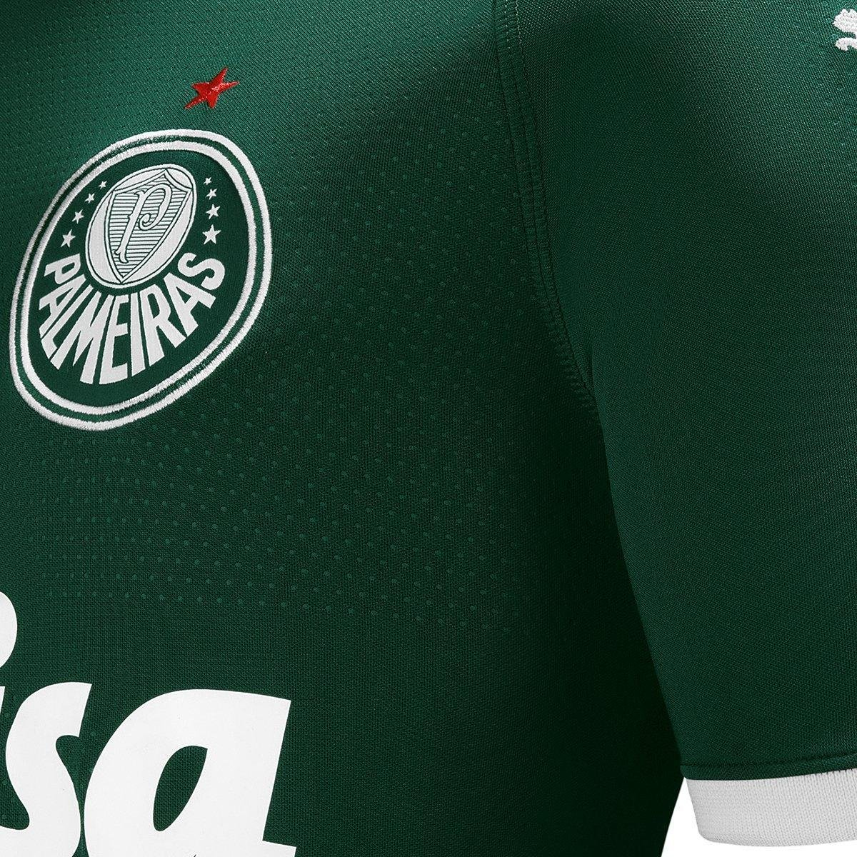 Camisa Palmeiras I 19/20 s/n° - Torcedor Puma Masculina - 2