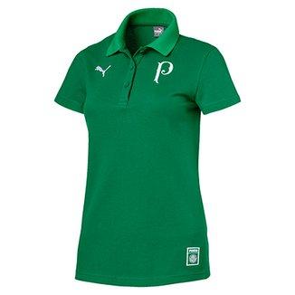 Camisa Polo Palmeiras 19 20 Puma Feminina a3dd6bb611d1d