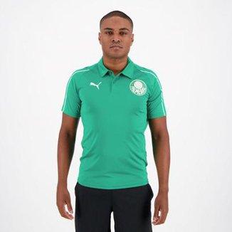 Camisa Polo Palmeiras 19 20 Puma Masculina 763990024f7f7