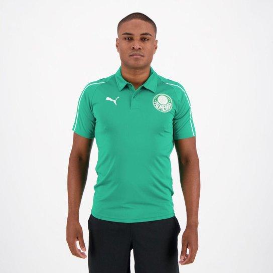 a57112b9ddc Camisa Polo Palmeiras 19/20 Puma Masculina - Verde