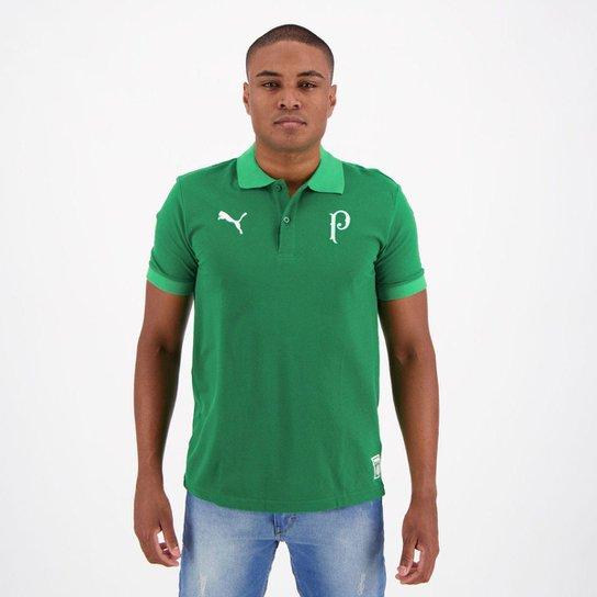 Camisa Polo Palmeiras 2019 Puma Masculina - Verde - Compre Agora ... 4a6fe78fa4b16